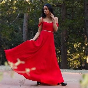 Reformation Dresses - Reformation Red Dress